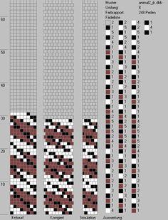 Schlauchketten häkeln - Musterbibliothek: animal2