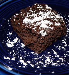 Spinach Brownies - I'm clearly craving sweet stuff, all my latest pins are recipes for desserts!