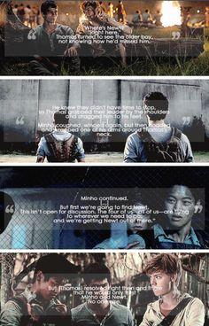 Minho ~•~ Thomas ~•~ Newt