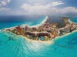 Cancun, Mexique • 360 ° Panorama aérienne !