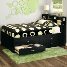 FREE SHIPPING! Shop Wayfair for South Shore Step One Full Storage Panel Bed - Great Deals on all Furniture products with the best selection to choose from!