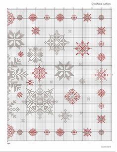 Snowflake Cushion 3/3