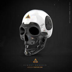 Almost Human - Skull, Ivan Santic on ArtStation at http://www.artstation.com/artwork/almost-human-skull