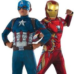 #Marvel civil war #captain america iron man superhero kids costume fancy #dress , View more on the LINK: http://www.zeppy.io/product/gb/2/111952539319/