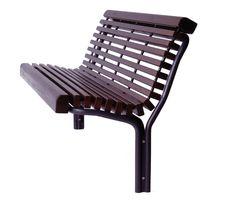 CONTOUR 325/22 - wooden bench for urban landscape