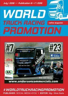 World Truck Racing Promotion - July 2018 Find Facebook, Racing Events, Sale Promotion, Grand Prix, Online Marketing, Online Business, Competition, Trucks, Social Media