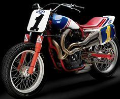 Ricky Graham's National No. 1 dirt track bike