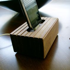 A sleek way to charge the iPhone.