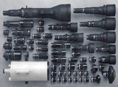 Nikon series of Professional 35mm lenses.