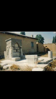 Fountain-Historic fountain-Laodicea ancient city-Constructive: Unknown-Year built: Unknown-Sarayönü-Konya