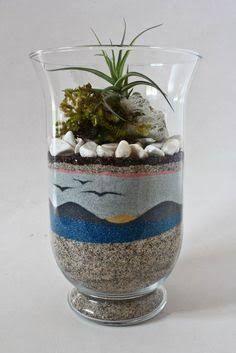 how to make sand art terrariums ile ilgili görsel sonucu