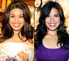Celebrity Look-Alikes - Seeing double? Even the Hollywood elite have doppelgängers! Jordin Sparks and America Ferrera