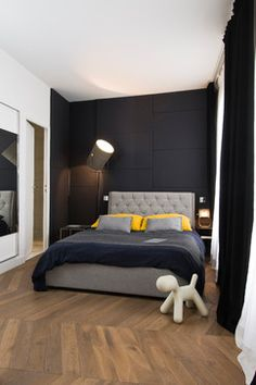 Contemporary Bedroom Design Ideas, Pictures, Remodel and Decor