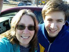 Me and Jordan running errands. #venturiantale #jordanfrye #venturian