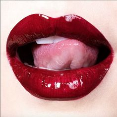 Bazaar's 50 Best Anti-Aging Tips of All Time Lipstick, , Anti Aging Tips, Best Anti Aging, Anti Aging Skin Care, Lipstick Art, Lip Art, Red Lipsticks, Wet Lips, Essential Oils For Face, Kissable Lips