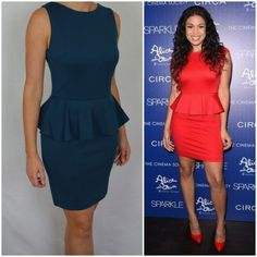 Peplum dresses have been seen everywhere, including on the red carpet. Get Jordin Sparks look with this fitted to this waist emerald green peplum dress, a must have this Autum / Winter. Perfect for the office as well as a night out. Glam up this dress with a statement gold necklace before you head out on the town. Buy now at: https://www.getherstyle.com.au