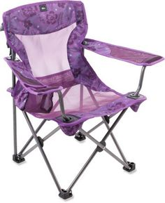 camping chair for the girl's bday