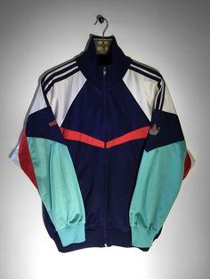 Adidas track jacket size Medium (but Fits Oversized) £28 Website➡️ www.retroreflex.uk #vintage #adidas #oldschool