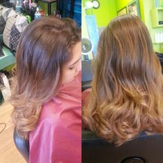 Ombre on Virgin Hair by Christine Ehmann Beauty Professional
