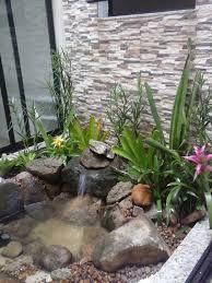 Resultado de imagem para cascatas pequenas para jardins