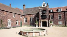 Fulham Palace courtyard. Katherine of Aragon lived here for a time before she married Henry VIII