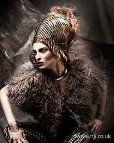 Anne Veck Avant Garde Hairdresser of the Year Finalist