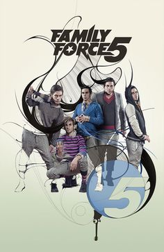 Awesome Band Art for Family Force 5