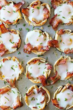 These English Muffin Bacon, Egg and Cheese cups are the most delicious little breakfast bites. Thomas' Sourdough English Muffins baked together with melty cheddar cheese, smokey bacon and a whole egg. I added a sprinkle of chives for a light onion flavor and it's delicious! These little breakfast cups are packed with flavor and …