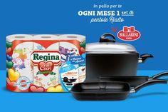 Acquista i rotoli da cucina Regina di cuori e scopri come vincere uno dei premi (giornalieri e mensili) in palio: hai tempo sino al 28 febbraio 2015