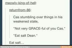 Eat salt dean