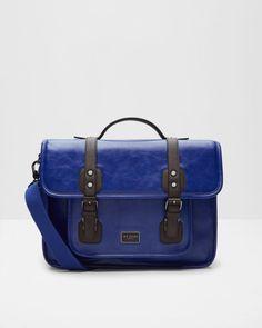 2f42fc82bb853f Detachable strap satchel - Blue