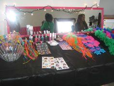 Girly Rockstar Birthday Party Ideas | Photo 6 of 40 | Catch My Party