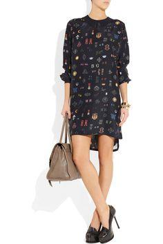 Stella McCartney|Duke printed silk dress|NET-A-PORTER.COM