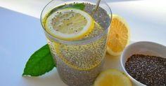 C'è una potente bevanda naturale preparata con acqua, limone e semi di chia, in grado di far perdere peso e curare altri problemi di salute.