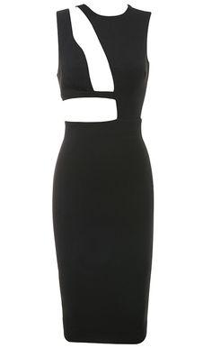 Dream it Wear it - Cut Out Asymmetrical Midi Bandage Dress Black, 102,82€ (http://www.dreamitwearit.com/cut-out-asymmetrical-midi-bandage-dress-black/)