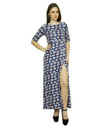 Buy Women's rayon printed maxi dress other-apparel online