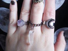 Gorgeous Witchy Rings