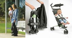 Fold up Stroller converts to backpack