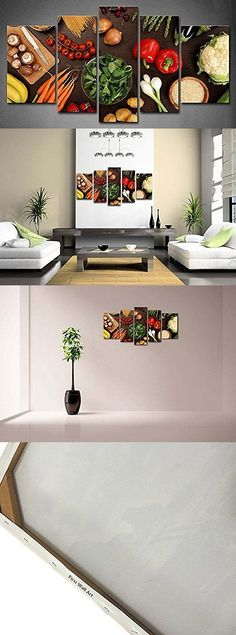 Posters and Prints 41511: Fresh Vegetable Foods Painting Canvas Print Fruit Picture Wall Art Kitchen Decor -> BUY IT NOW ONLY: $68 on eBay!