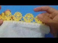 Bico de crochê #163 - YouTube