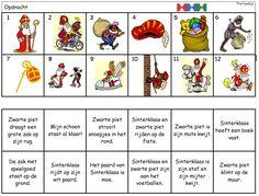 Begrijpend lezen (zinnen): thema Sinterklaas