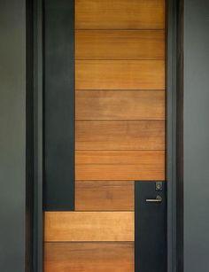 Artistic Contemporary Door