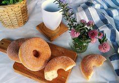Receta donuts de azúcar y canela al horno   Cocina