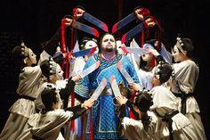 Turandot, Royal Opera House Covent Garden (temporada 2013-2014) Marco Berti, como Calaf. (Foto © ROH/Tristram Kenton, 2013)