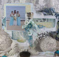 Artdeco Creations Brands: Sea Breeze Wedding | Guest Designer Denise Boddey