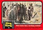 1976 Topps King Kong #12 Witch doctor dons a terrifying costume! | The Trading Card Database