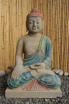 Siddharta Gautama Naturstein Buddha Statue Fur Den Asiatischen Garten Lassen Sie Sich Von Der Positiven Energie Des Buddhas Verzaub Buddha Figur Buddha Statue