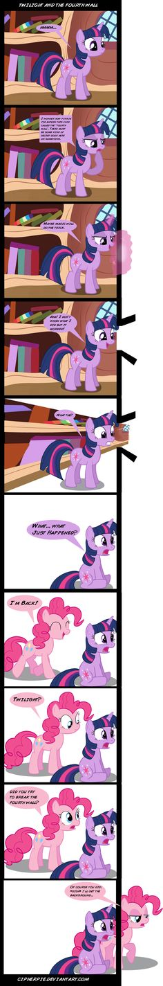 Twilight and the Fourth Wall by cipherpie.deviantart.com