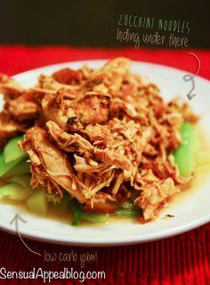 Crock Pot Salsa Shredded Chicken Breast (gluten free) - Super yummy. Tastes like enchiladas serve with rice