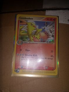 Combusken Winner Black Star Promo 009 Rare Pokemon Card Near Mint TCG Black Star, Pokemon Cards, Mint, Stars, Stuff To Buy, Ebay, Sterne, Star, Peppermint